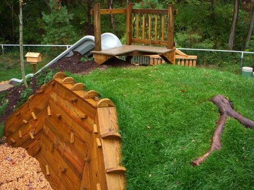 Climbing Wall Kids Outdoor Natural Playgrounds