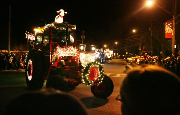 Holiday Lighted Tractor Parade