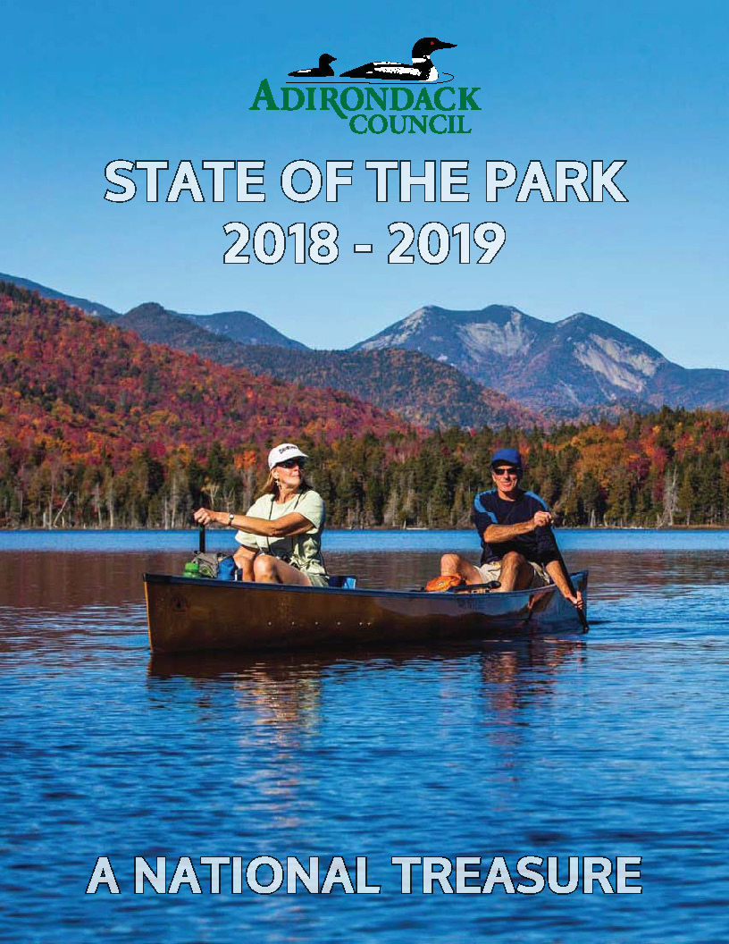 Adirondack Council State of the Park 2018-2019