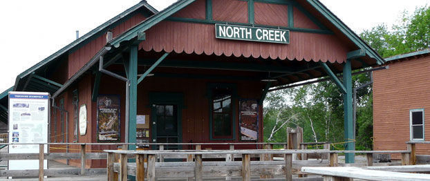 North Creek rail depot
