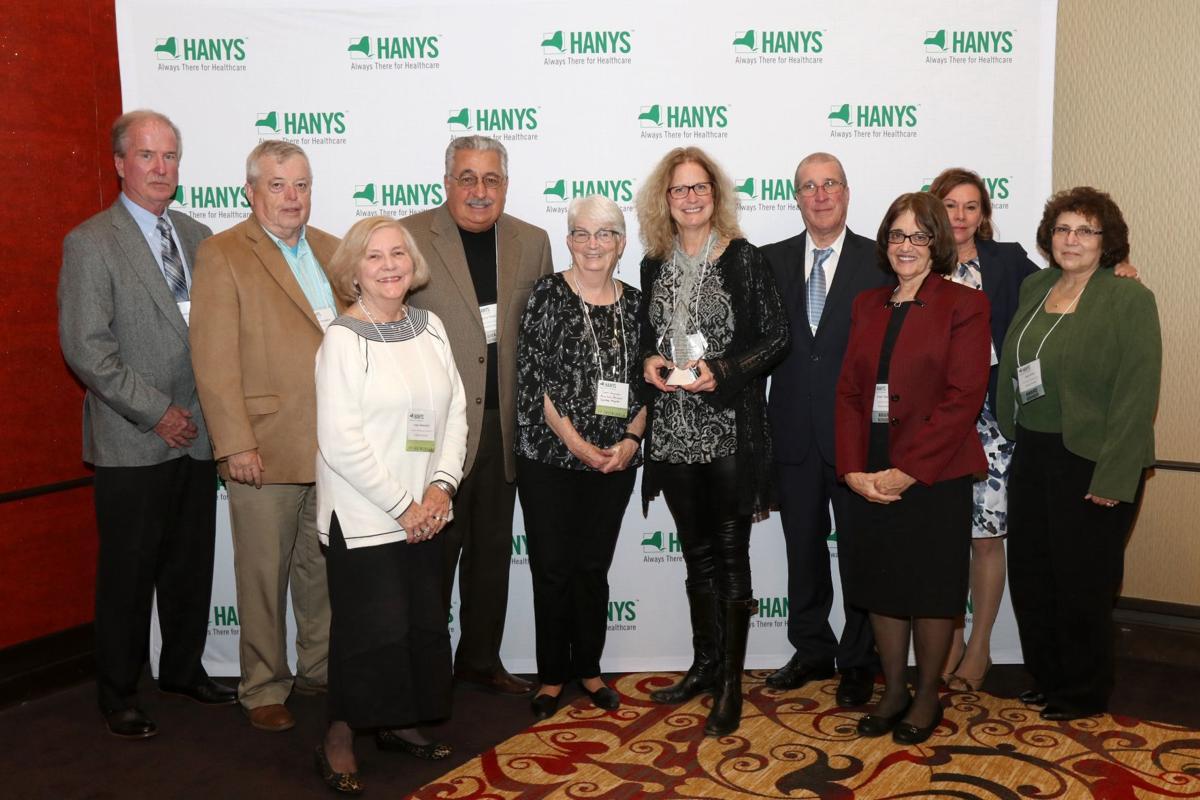 Saratoga Hospital volunteers honored