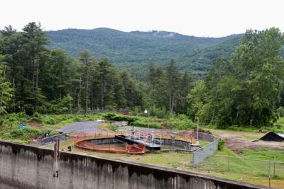 Lake George wastewater treatment plant