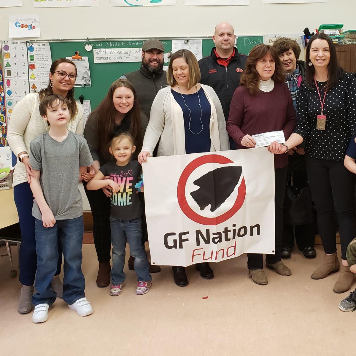 GF Nation presents grant