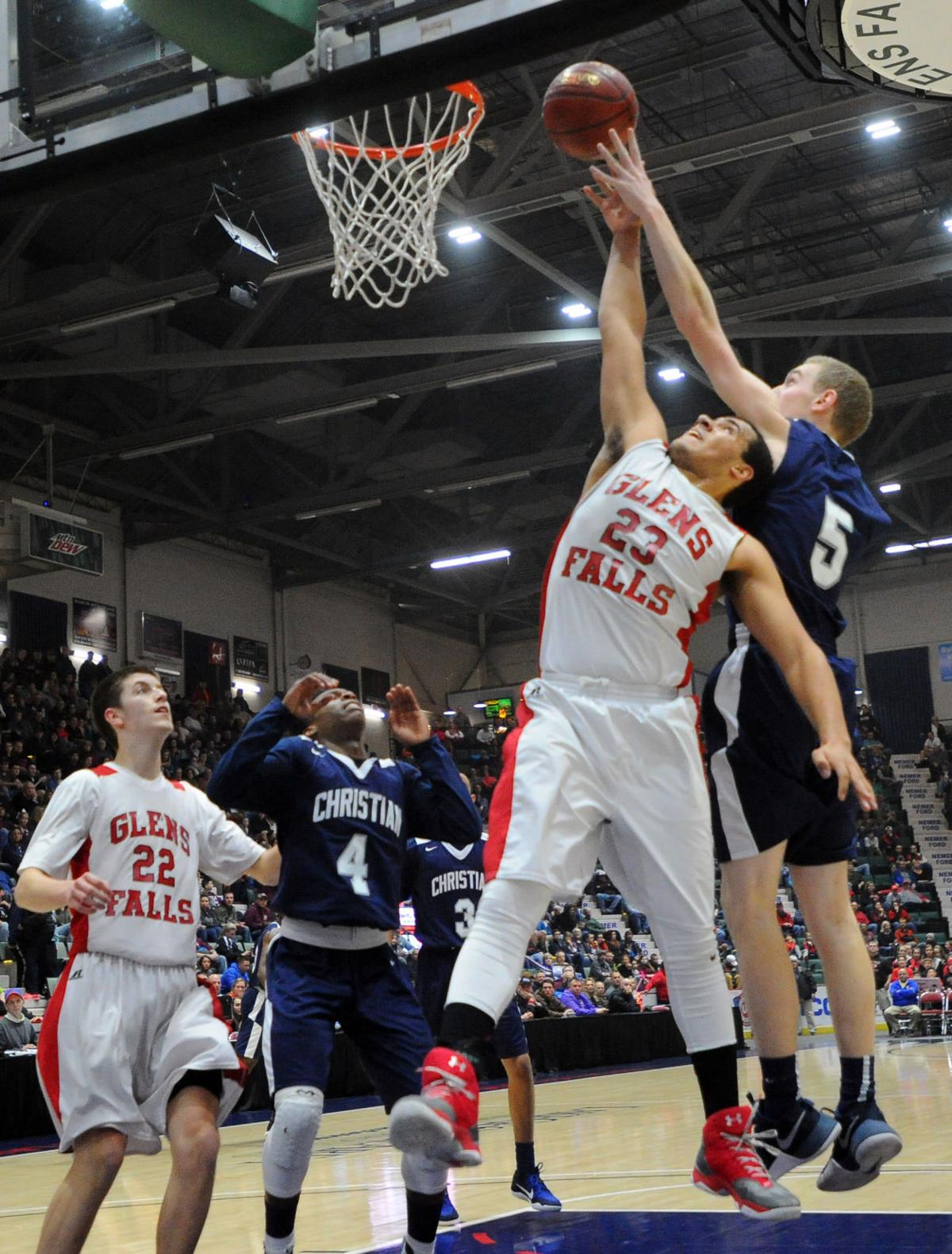 Boys Basketball -- Glens Falls vs. Mekeel Christian (copy)