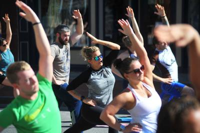 Yoga on Glen Street