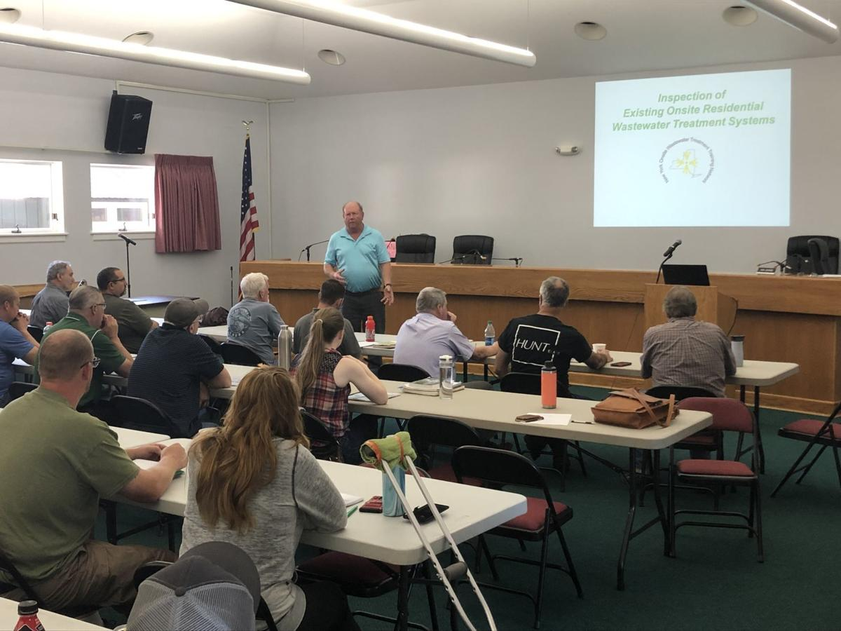 Septic inspection training
