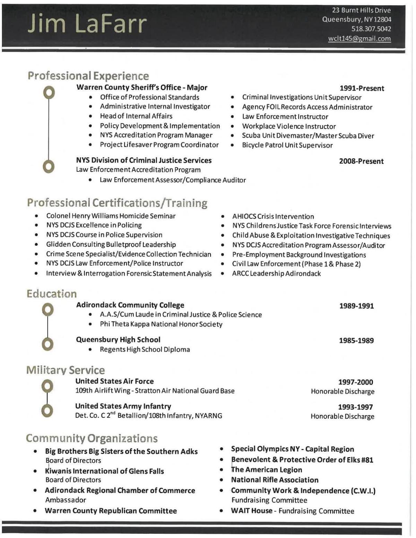 lafarr resume
