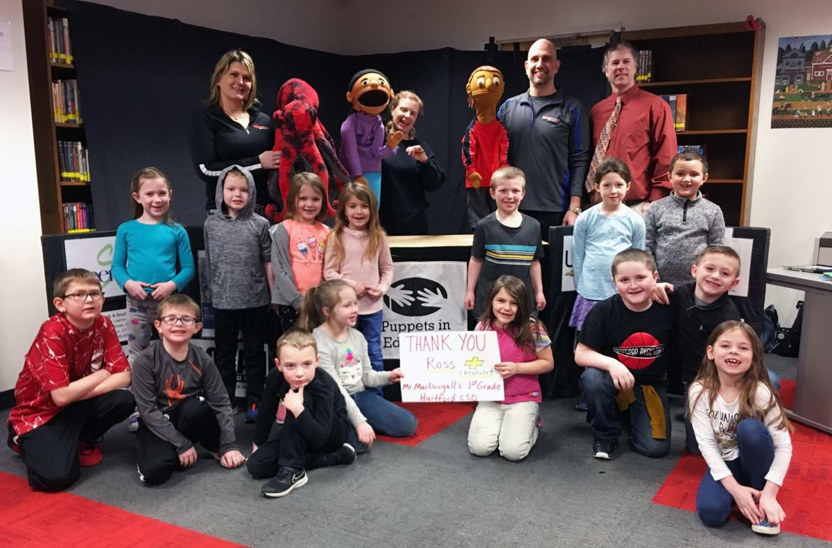 Hometown Chevrolet supports puppet program