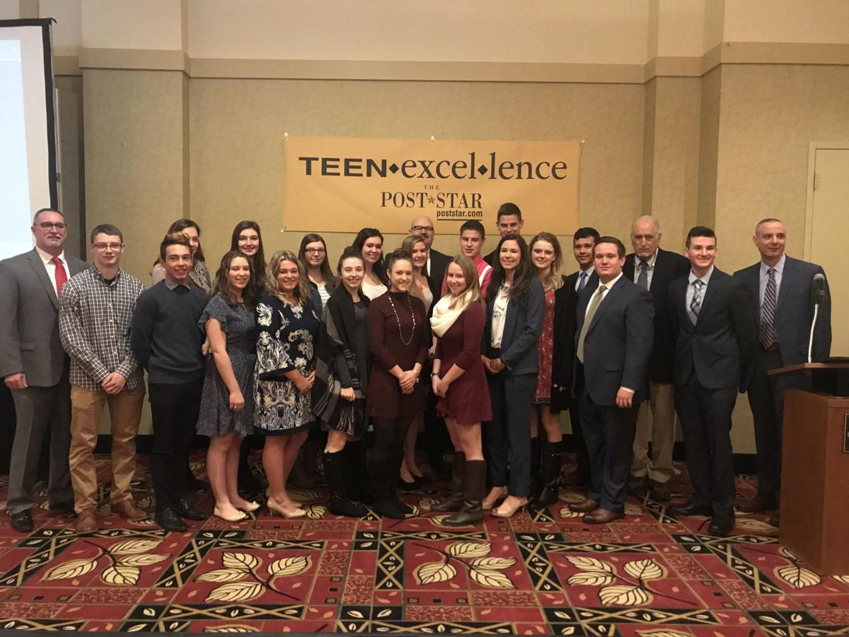 Teen Excellence Award winners