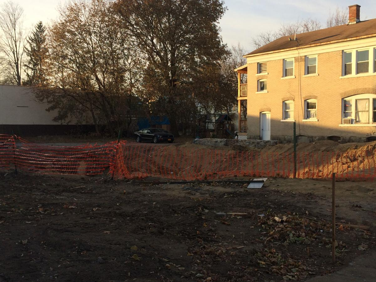 Site for new townhouses