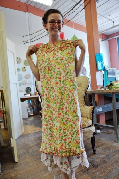 shirt factory dress