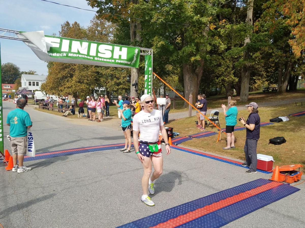Galvin crosses finish
