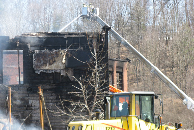 Fire Burns Former Paper Mill In Greenwich Local