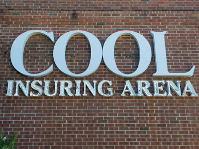 Cool Insuring Arena sign