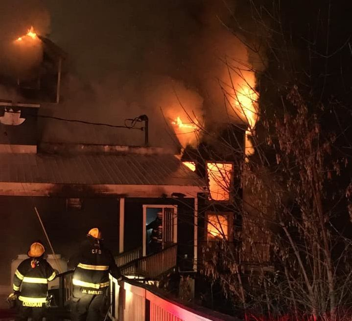 Fire heavily damages Grist Mill restaurant