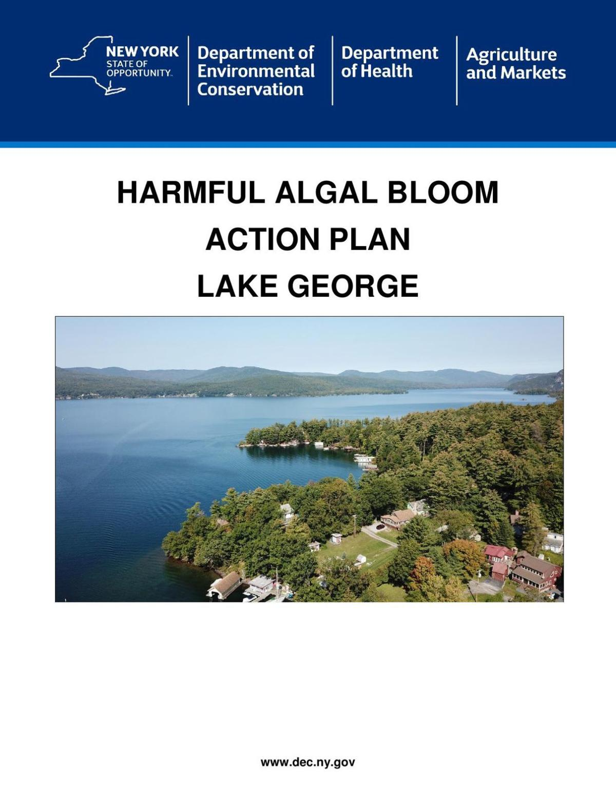 Lake George Harmful Algal Bloom Action Plan