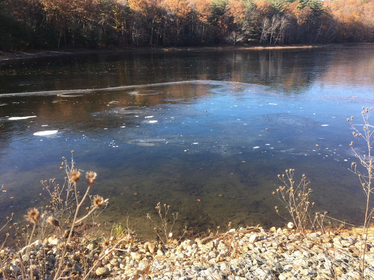 Moreau Lake ice