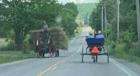 An Amish pass