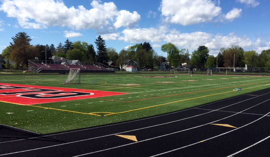 Glens Falls High School turf field