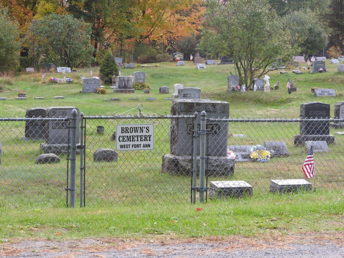 Owner of property next to cemetery is blaming the messenger