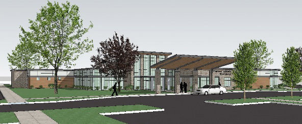 Moreau Family Health rendering