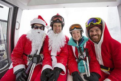 Santas at Whiteface