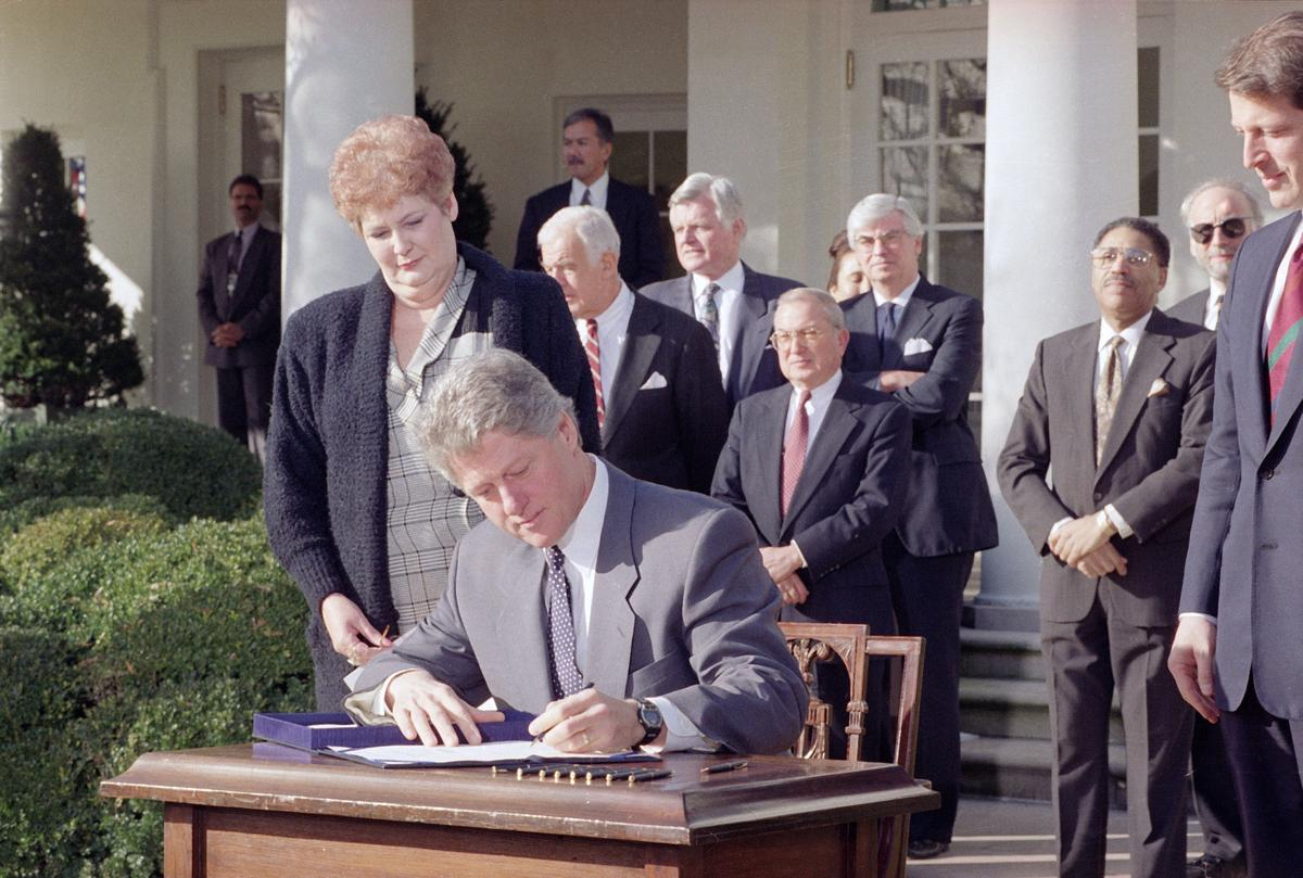 Clinton Family Leave Bill 1993