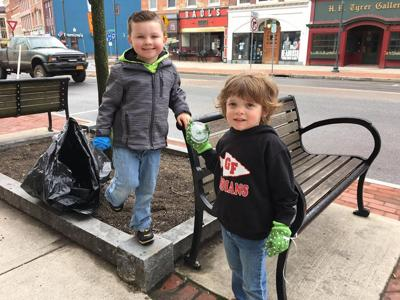 Downtown cleanup