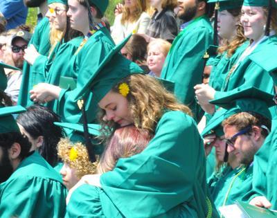 Students embrace