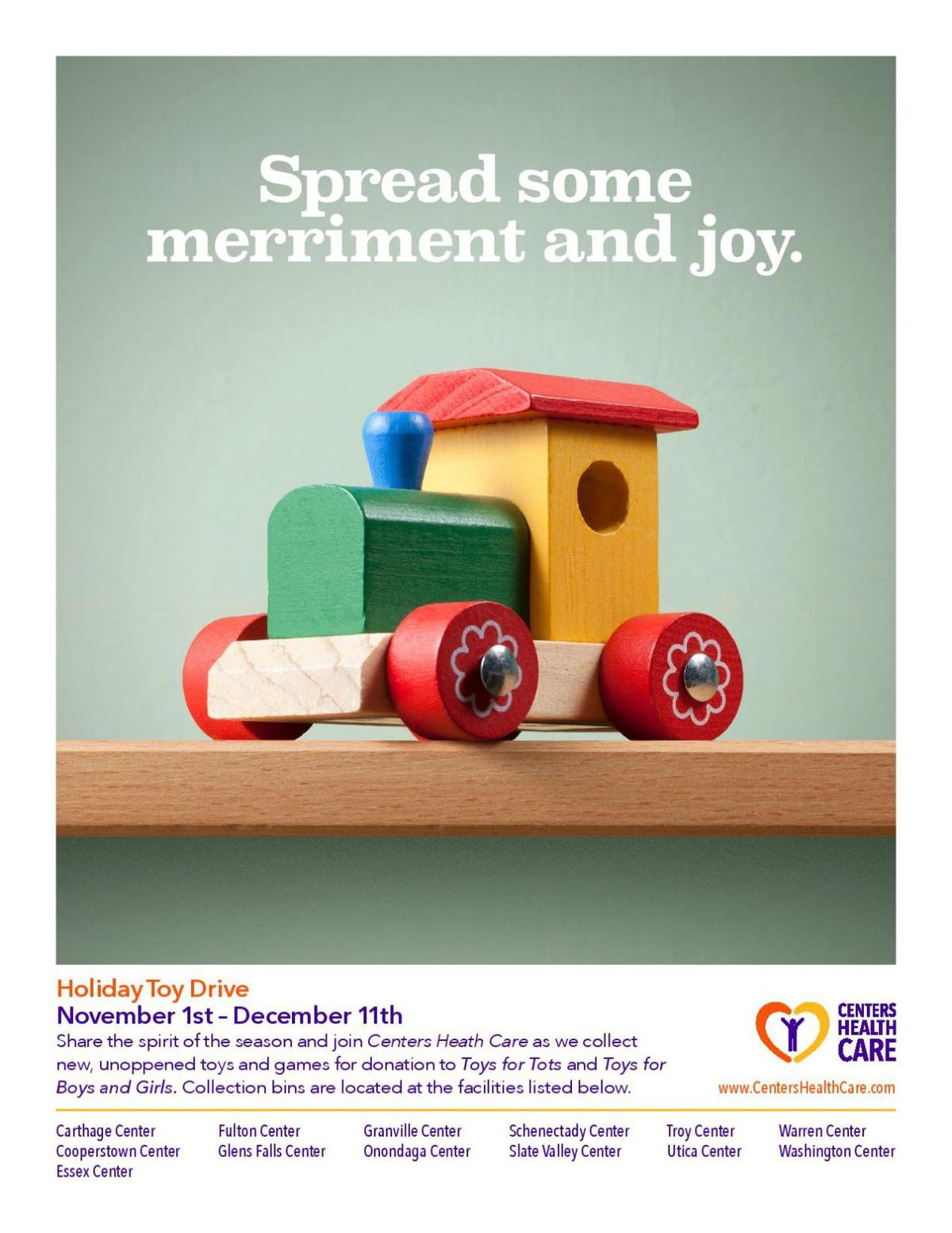 Toys For Toys 2017 Holiday Season