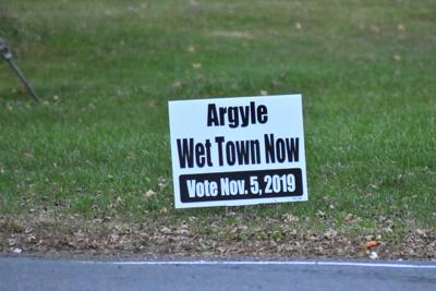 Argyle 'dry town' vote