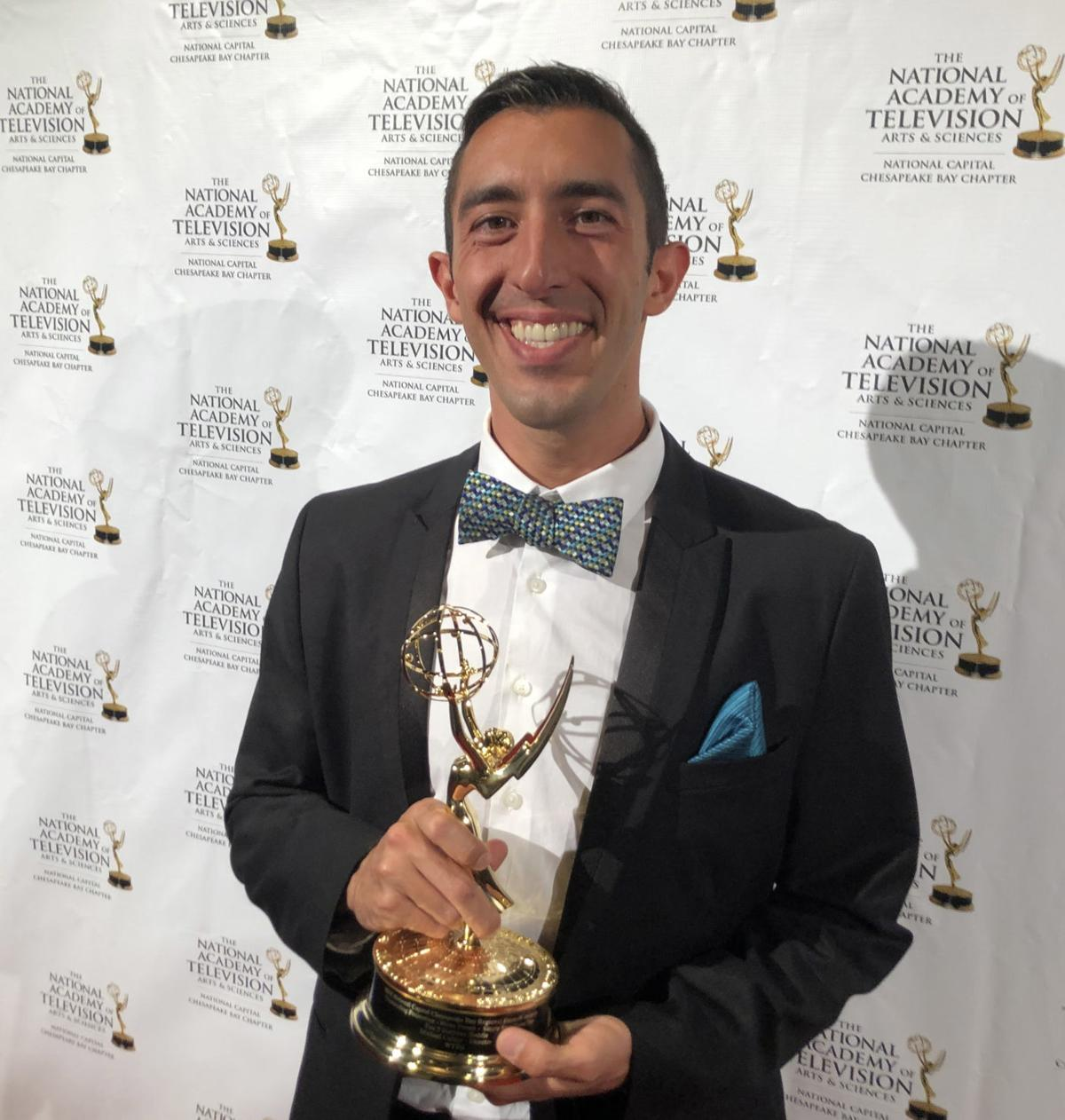 News director with local roots wins Emmy