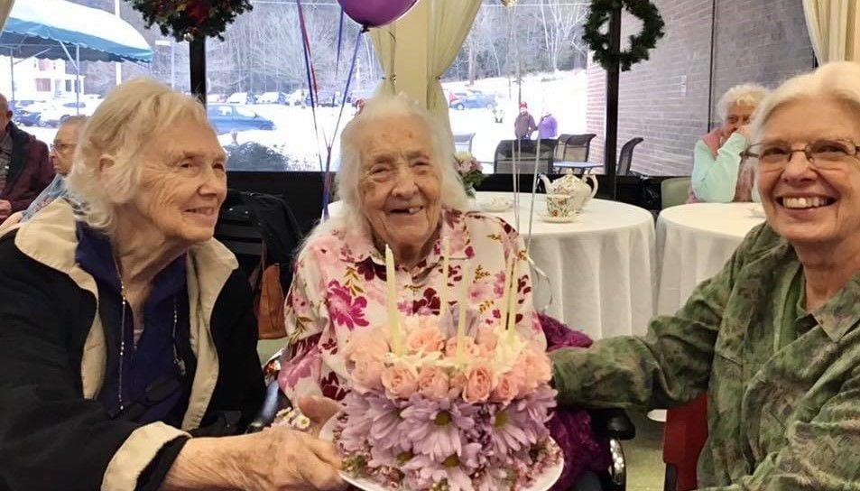 Hannah Delila Walter turns 105