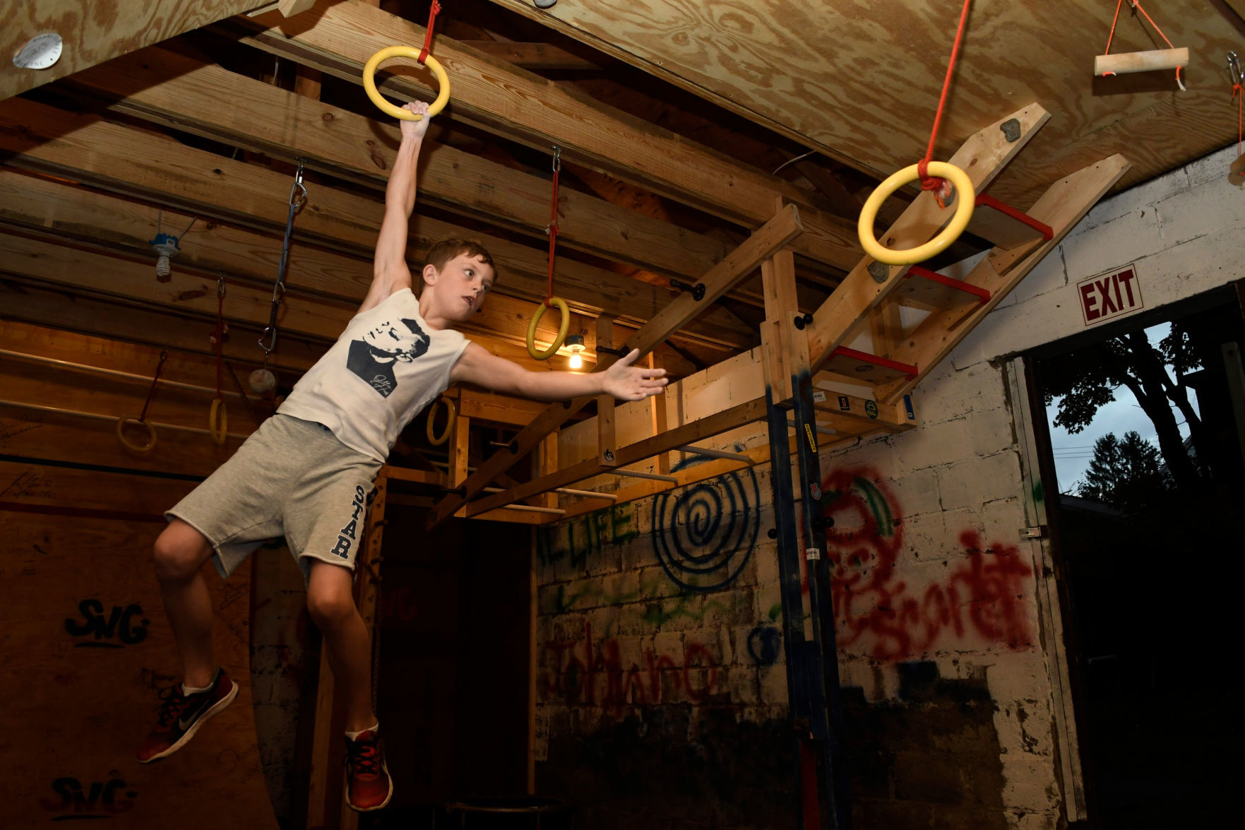 Saratoga springs boy to compete on american ninja warrior