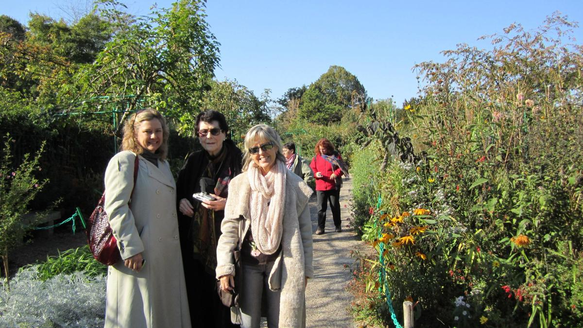 At Monet's Giverny