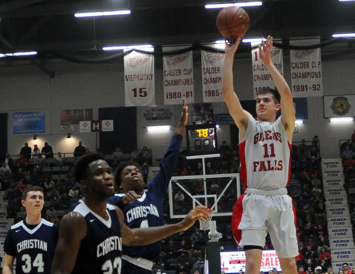 Boys Basketball -- Glens Falls vs. Mekeel Christian