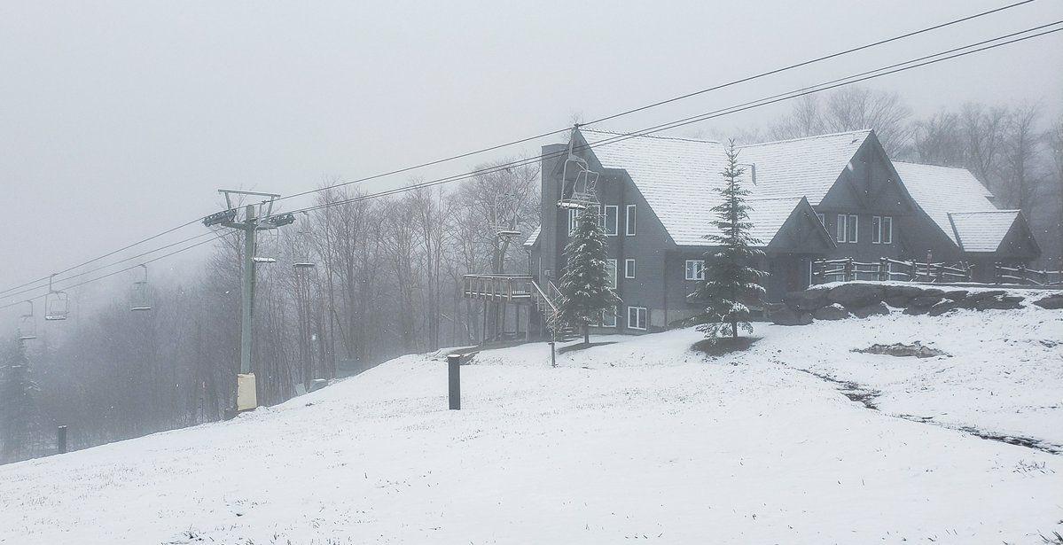 Jay Peak snow