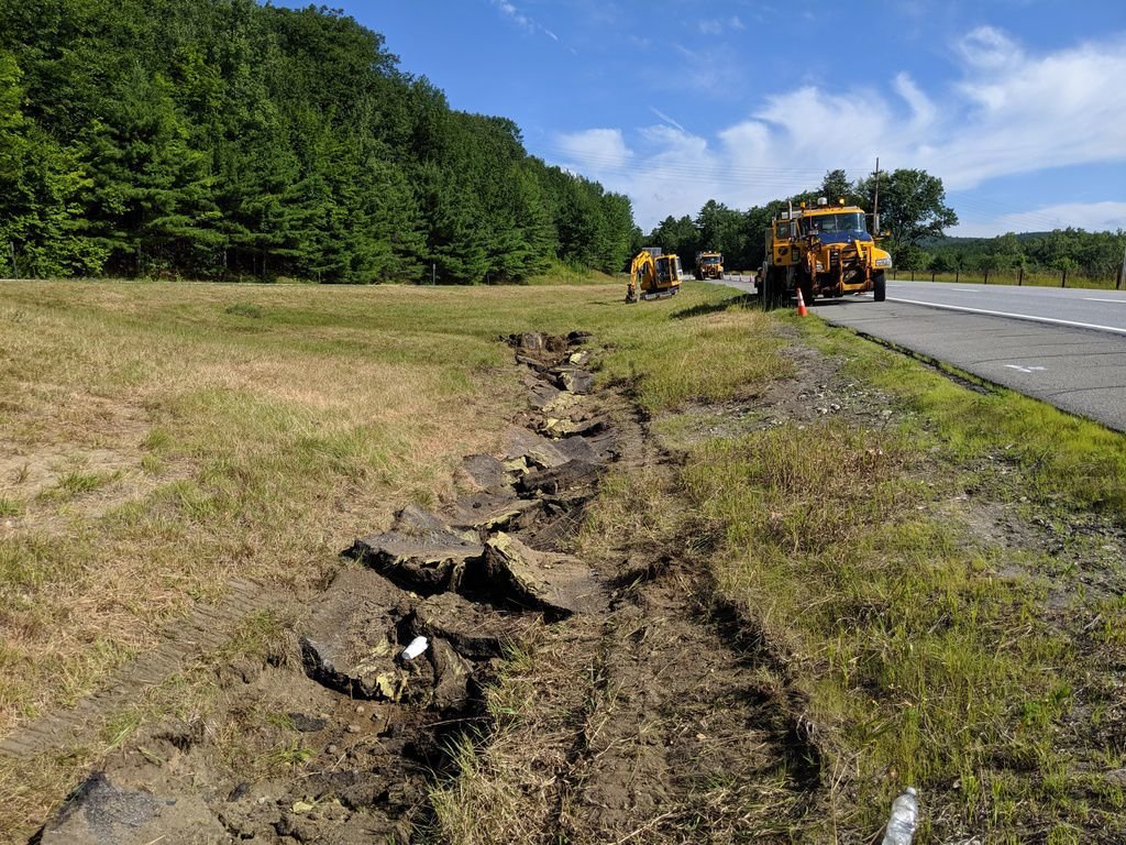 Stormwater ditch improvements