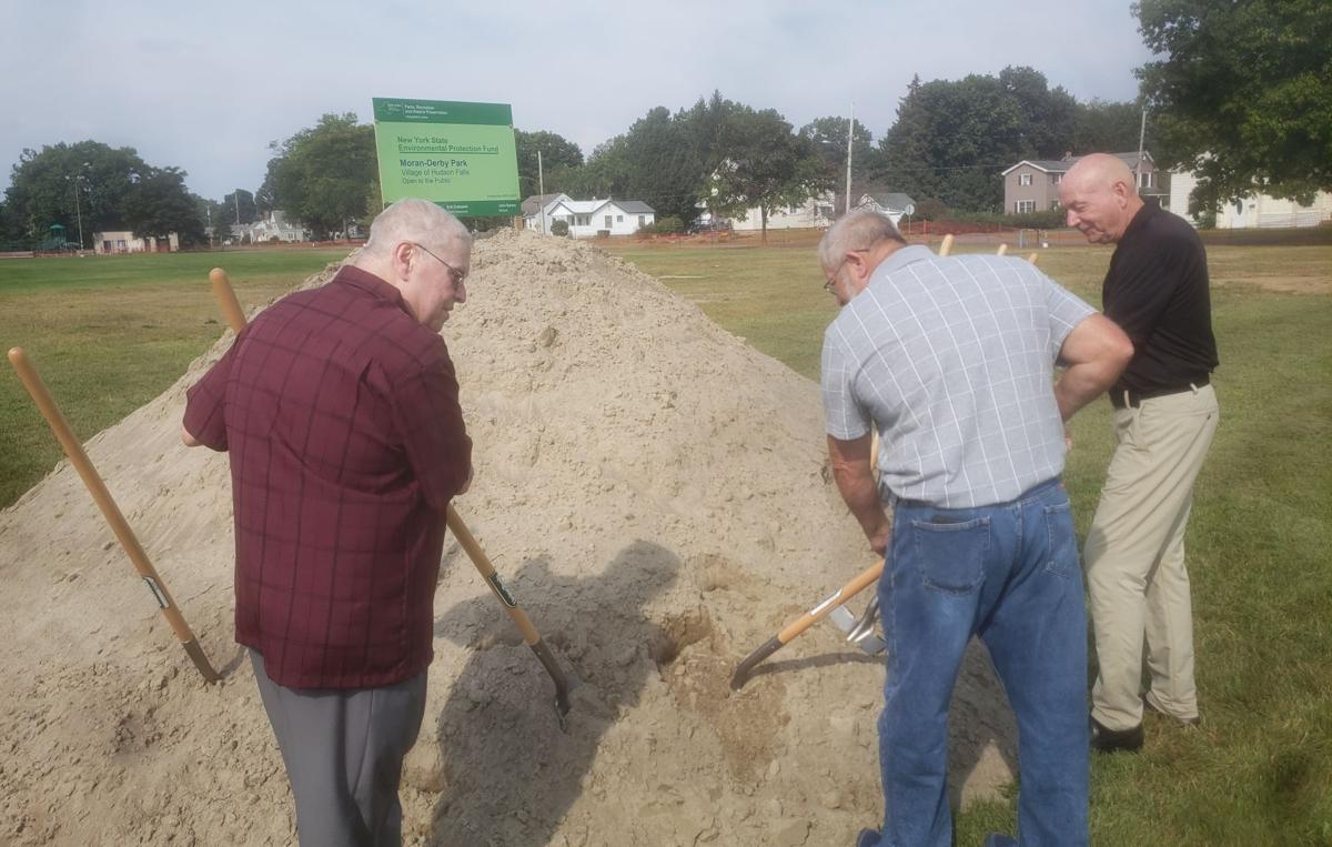 Groundbreaking ceremony held for revitalization of Moran-Derby Park