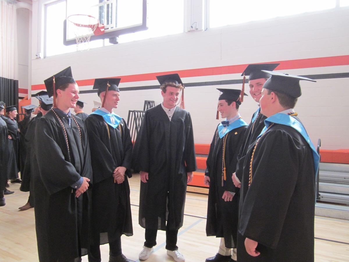 Cambridge Central School graduation