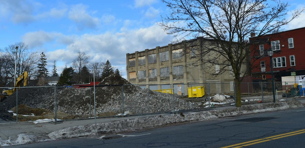 South Street demolition work completed