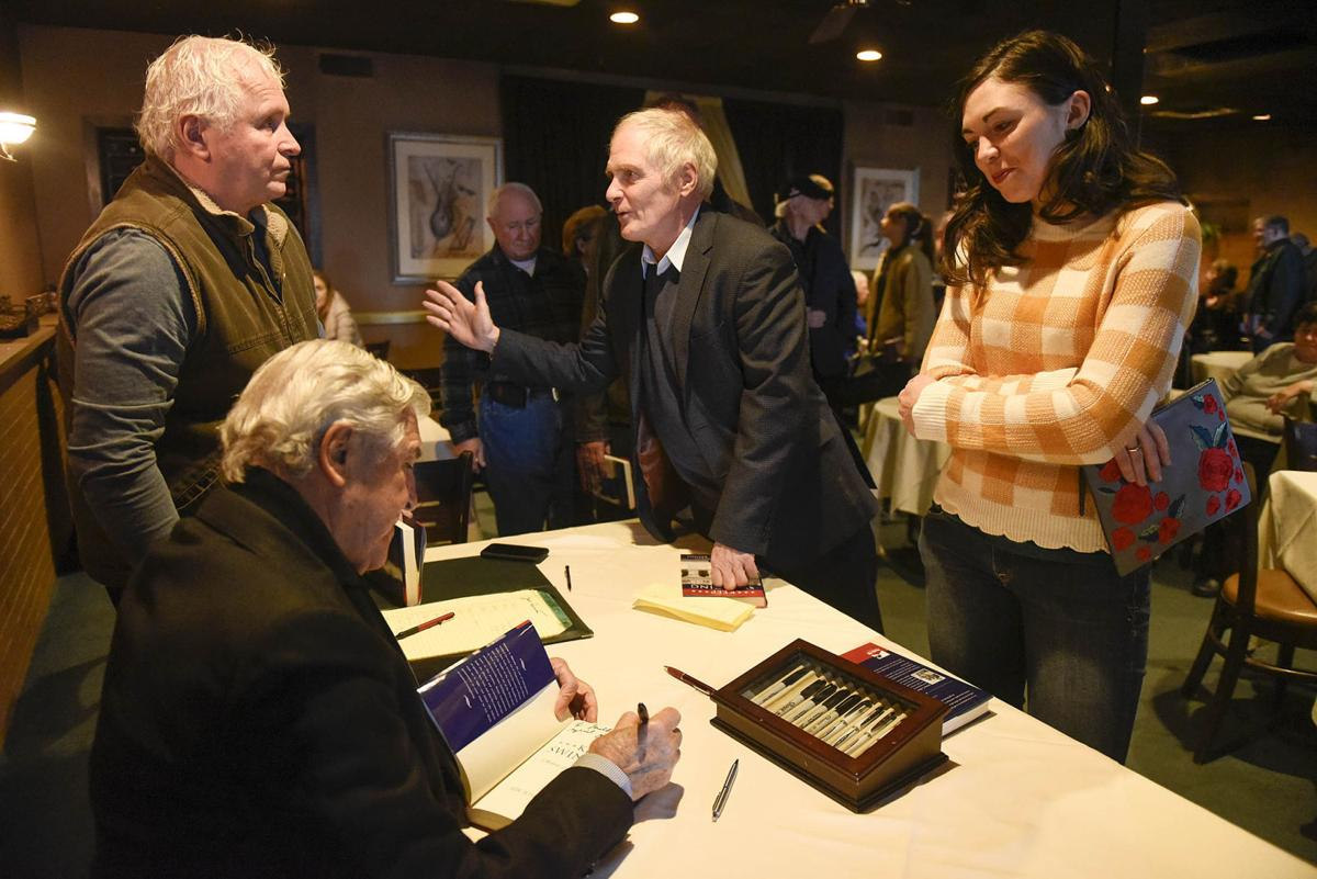 Joe Bruno Hosts Signing For New Book That Touches On Life In Glens Falls Trials Poststar Com Former state senate majority leader joe bruno was lauded friday as an extraordinary public servant during a. joe bruno hosts signing for new book