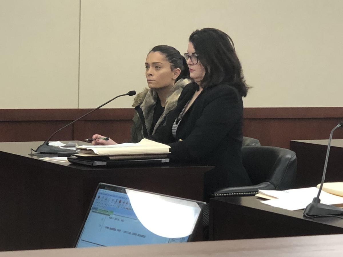 Ashley Bell in court