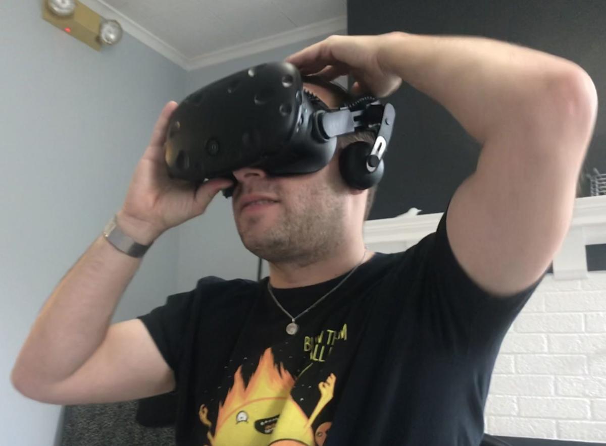 Virtual reality at film festival