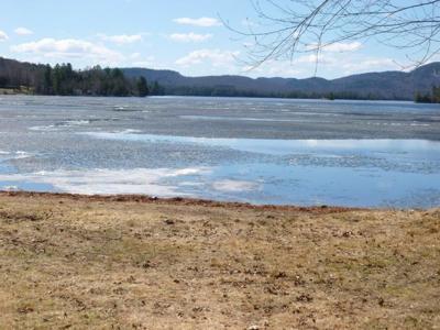 Blue Mountain lake ice