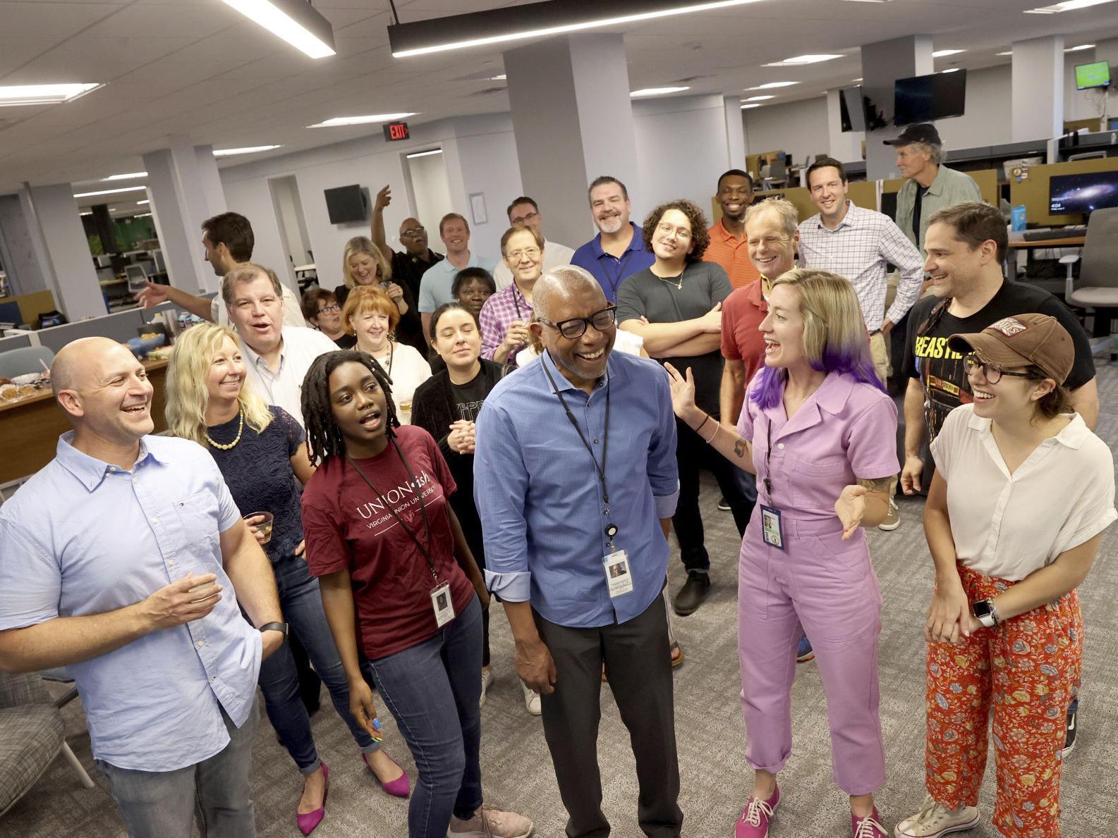 Richmond Times Dispatch Columnist Williams Wins Pulitzer Poststar Com