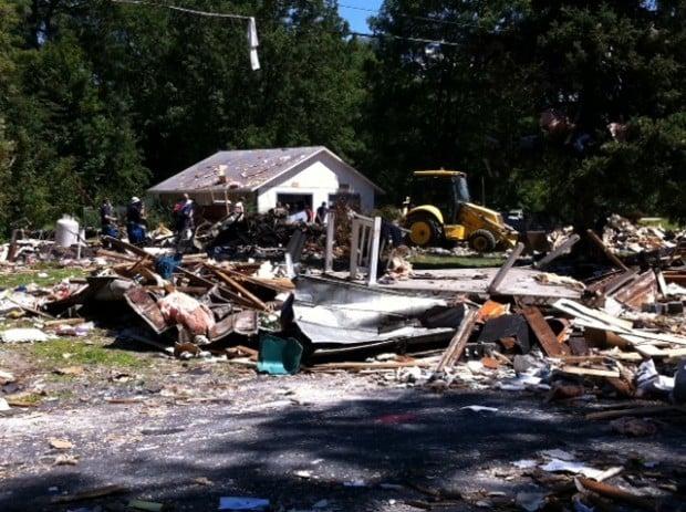 Salem explosion, day 2