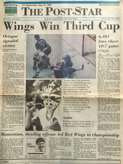 Calder Cup championship - May 17, 1989