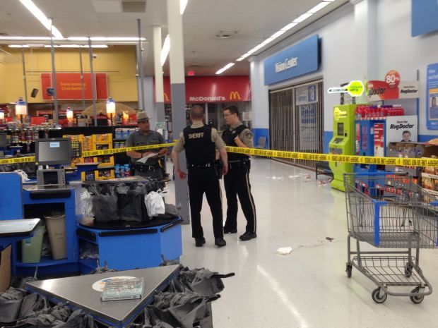 Police: Wal-Mart shooter in custody at hospital after