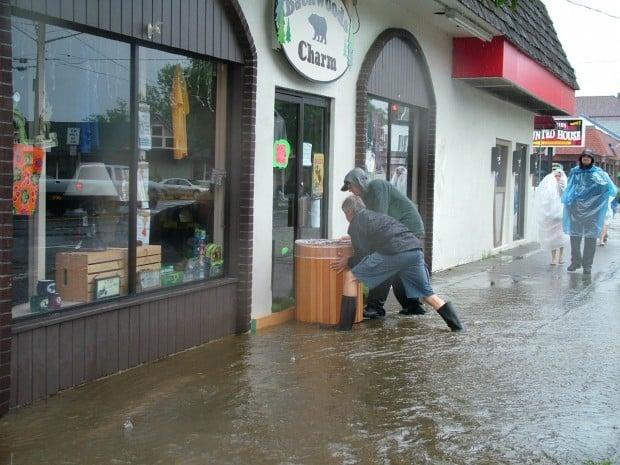 Irene damage -- flooding 1
